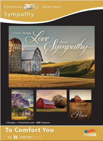 To Comfort You Sympathy Boxed Cards (pack of 12)