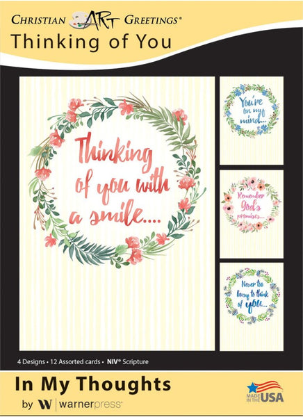 In My Thoughts Boxed Cards (pack of 12)