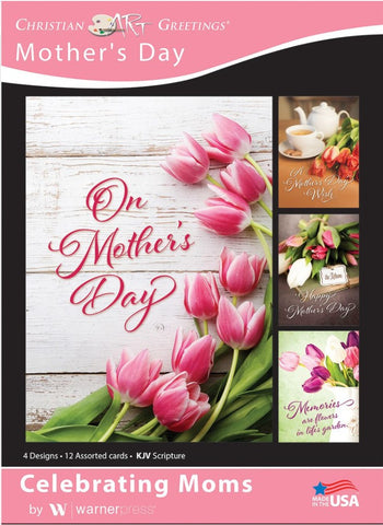 Celebrating Moms Boxed Cards (pack of 12)