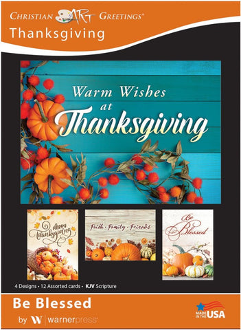 Be Blessed Thanksgiving Boxed Cards (pack of 12)