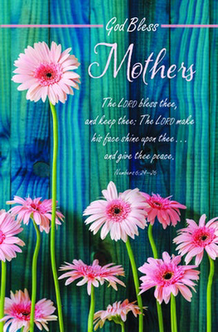 Mother's Day God Bless Mothers Bulletin (Pack of 100)