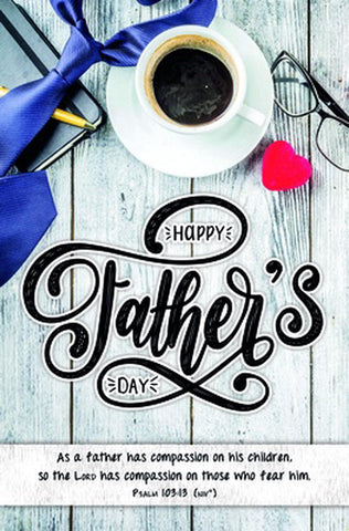 Happy Father's Day Bulletin (Pack of 100)