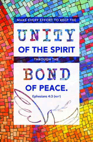 Unity of the Spirit Bulletin (Pack of 100)