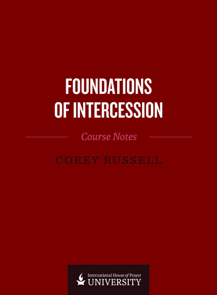 Foundations Of Intercession Course Notes Paperback