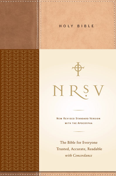 NRSV Standard Bible with Apocrypha, Tan/Brown