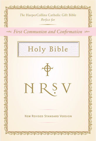 NRSV Catholic Gift Bible, White