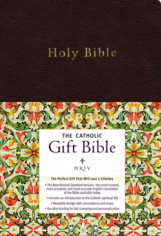 NRSV Catholic Gift Bible, Black