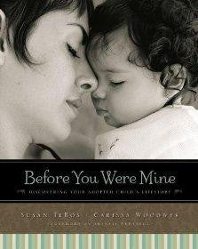 Before You Were Mine: Discovering Your Adopted Child's Lifestory - TeBos, Susan - Re-vived.com