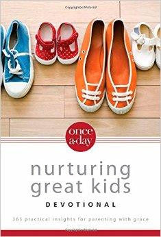 Once-A-Day Nurturing Great Kids Devotional: 365 Practical Insights for Parenting with Grace - Seaborn, Dan - Re-vived.com