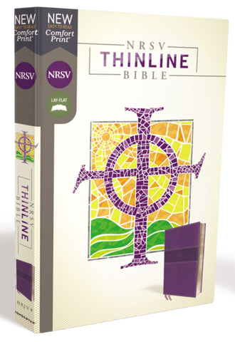 NRSV Thinline Bible, Purple, Comfort Print