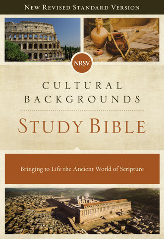 NRSV Cultural Backgrounds Study Bible, Comfort Print