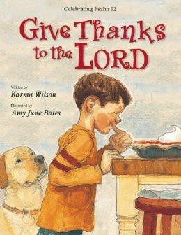 Give Thanks to the Lord - Wilson, Karma - Re-vived.com