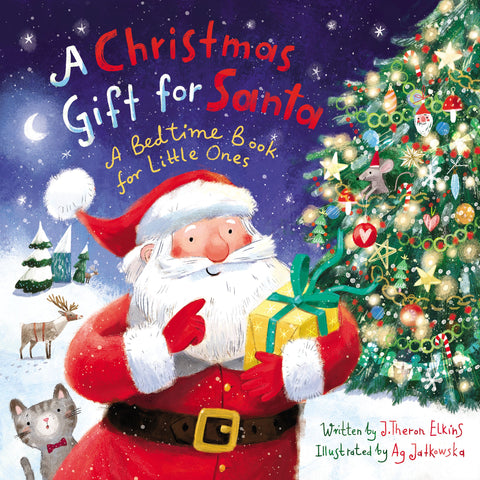 A Christmas Gift for Santa Board Book