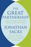 The Great Partnership Paperback Book - Jonathan Sacks - Re-vived.com