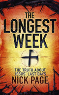 The Longest Week Paperback Book - Nick Page - Re-vived.com