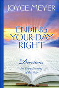 Ending Your Day Right Hardback Book - Joyce Meyer - Re-vived.com