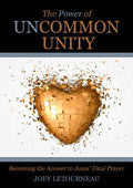 The Power Of Uncommon Unity Paperback Book - Joey LeTourneau - Re-vived.com