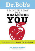 1 Minute A Day To A Healthier You Paperback Book - Bob DeMaria - Re-vived.com