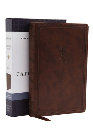 NRSV Catholic Bible, Brown, Comfort Print