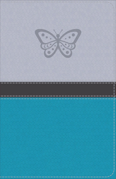 KJV Study Bible for Girls, Silver/Teal