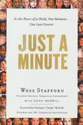 Just A Minute Paperback - Wess Stafford - Re-vived.com
