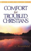 Comfort For Troubled Christians Paperback Book - JC Brumfield - Re-vived.com