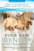 Freedom In Christ Bible Study Series 2: Your New Identity Paperback Book - Neil Anderson - Re-vived.com