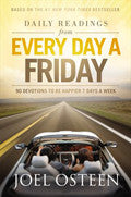 Daily Readings From Every Day A Friday Hardback Book - Joel Osteen - Re-vived.com
