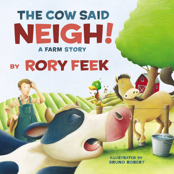 Cow Said Neigh! Board Book