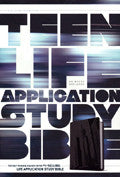 NLT Teen Life Application Study Bible TuTone Steel City Imitation Leather - N/A - Re-vived.com