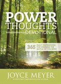 Power Thoughts Devotional Paperback - Joyce Meyer - Re-vived.com