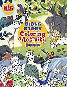 Big Picture Interactive: Bible Story Coloring and Activity Book