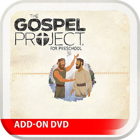 Gospel Project: Preschool Leader Kit Add-On DVD, Spring 2017