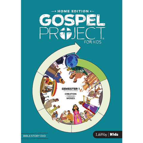 Gospel Project Home Edition: Bible Story DVD, Semester 1