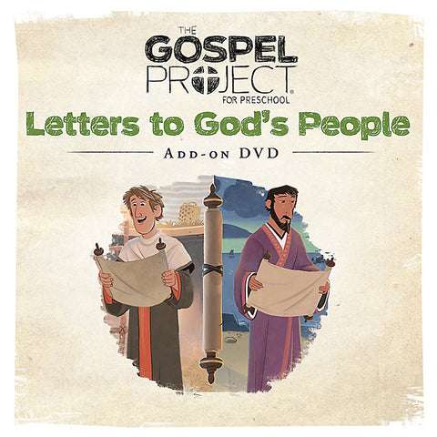 Gospel Project: Preschool Leader Kit Add-On DVD, Spring 2018
