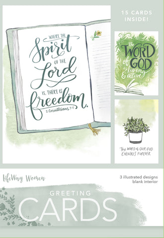 Spirit Of The Lord Boxed Greeting Cards