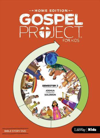 Gospel Project Home Edition: Bible Story DVD, Semester 2