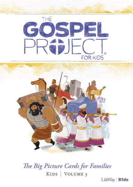 The Gospel Project For Kids: Big Picture Cards, Spring 2019