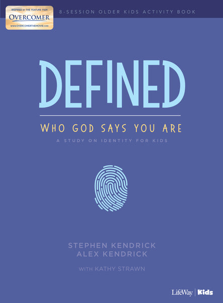 Defined: Who God Says You Are - Older Kids Activity Book