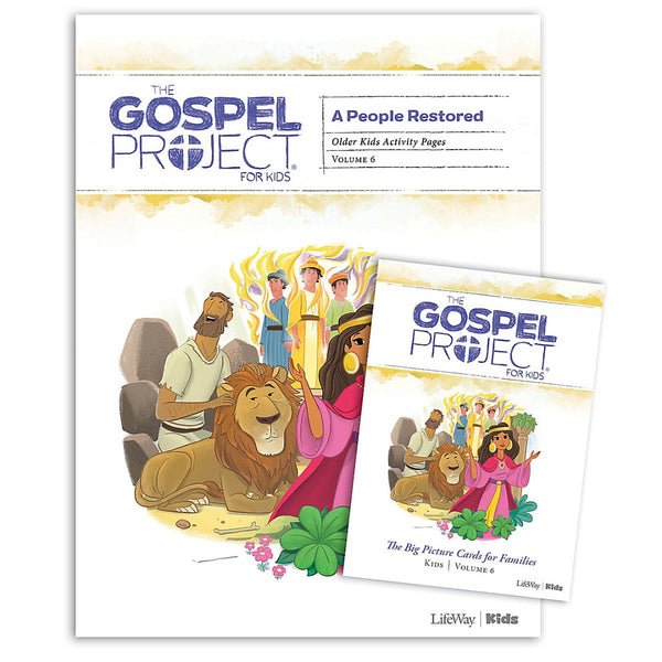Gospel Project: Older Kids Activity Pack, Winter 2020