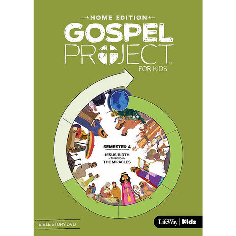 Gospel Project Home Edition: Bible Story DVD, Semester 4