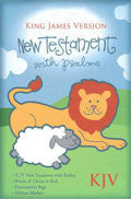 KJV Baby's First New Testament And Psalms White Imitation Leather - N/A - Re-vived.com