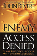 Enemy Access Denied Paperback Book - John Bevere - Re-vived.com