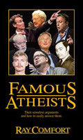 Famous Atheists Paperback - Ray Comfort - Re-vived.com