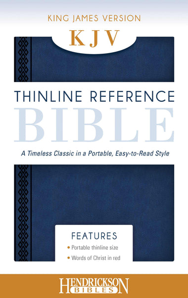 KJV Thinline Reference Bible, Midnight Blue