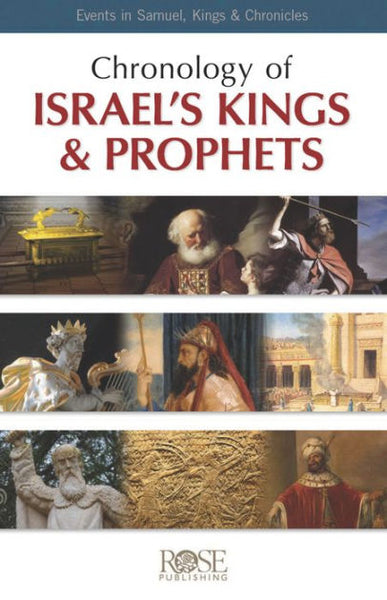 Chronology of Israel's Kings and Prophets (pack of 5)