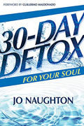 30-Day Detox For Your Soul Paperback - Jo Naughton - Re-vived.com
