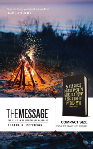 The Message Compact (Leather-Look)