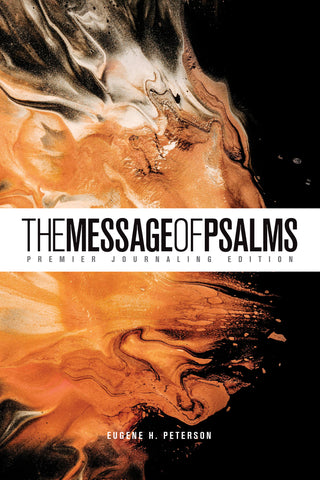 Message of Psalms: Premier Journaling Edition, Softcover (Desert Wanderer)