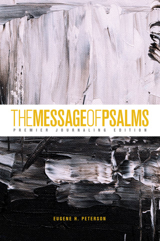 Message of Psalms: Premier Journaling Edition, Softcover (Thunder Symphonic)